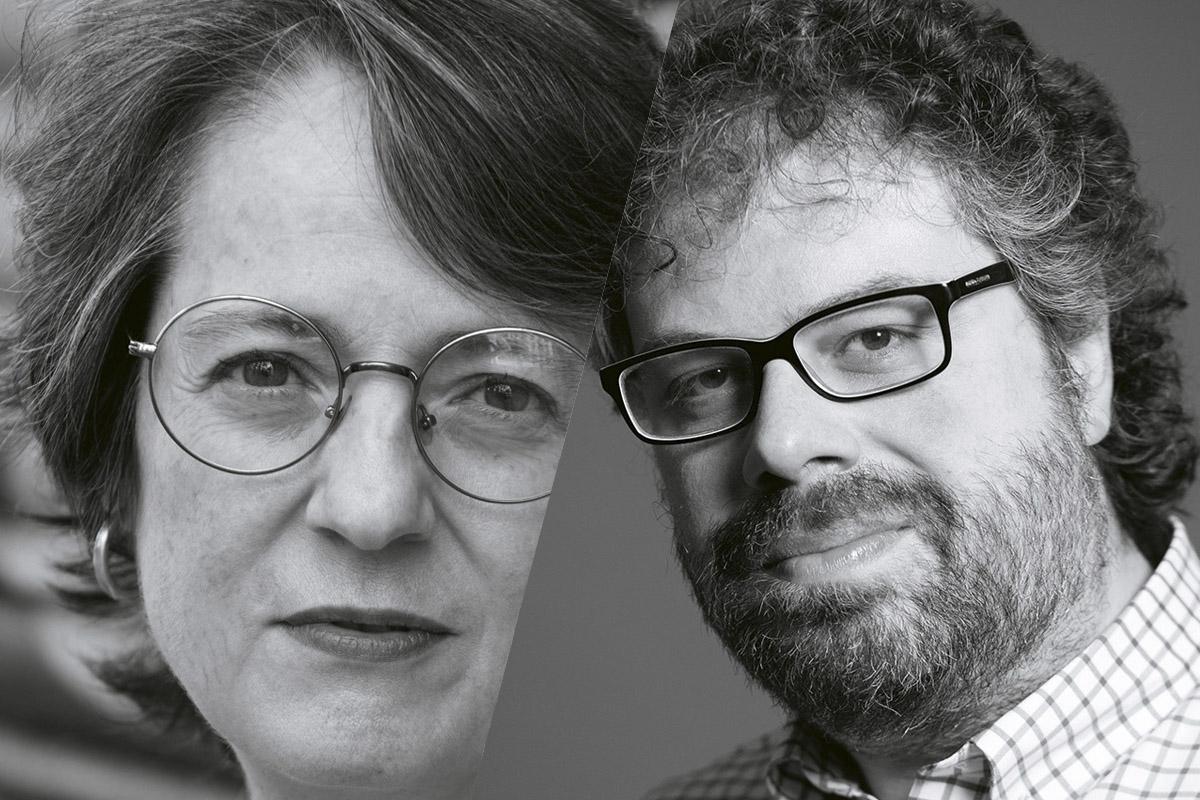 Marta Sanz y Sergio del Molino