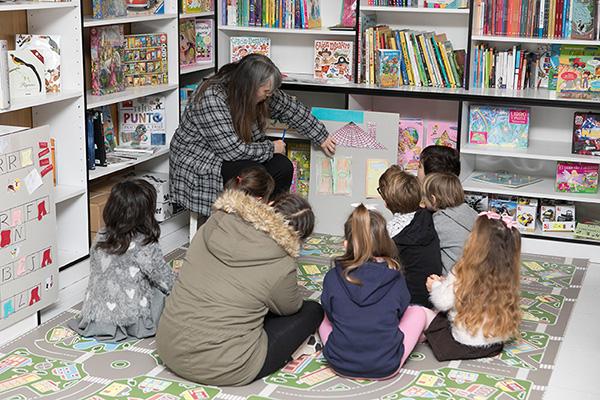Taller infantil de animación a la lectura en Castillo de Libros